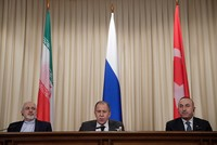 Turkish, Russian, Iranian foreign ministers to meet in Astana on March 14