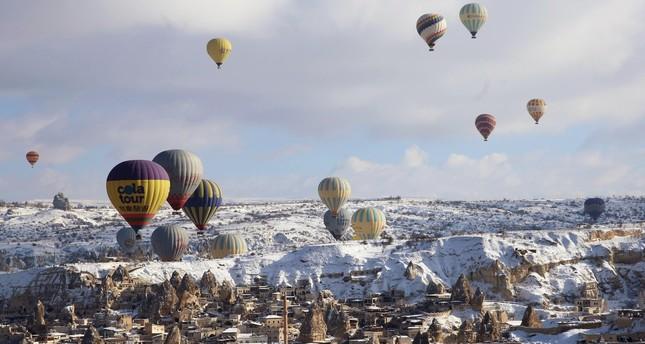 Domestically produced hot air balloons to grace Cappadocia sky next year