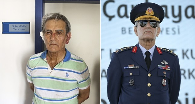 Drahtzieher des gescheiterten Putsches General Akın Öztürk in Polizeigewahrsam