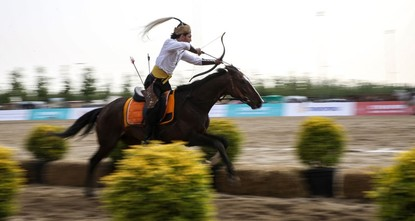 Ethnosports fest: A weekend with horses, archers, more