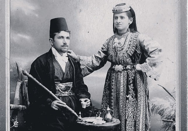 A Sephardic couple from Sarajevo under the rule of the Ottomans in the 19th century