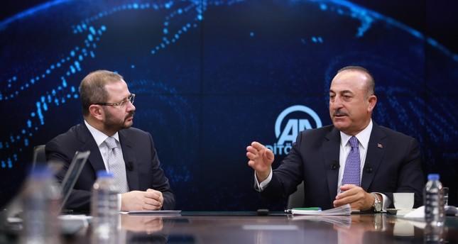 تشاوش أوغلو: تركيا لن تقبل أي حل لا يرضي تطلعات الشعب الفلسطيني