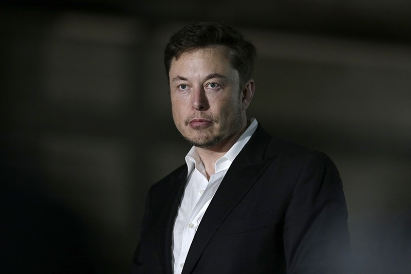 In this June 14, 2018, file photo, Tesla CEO and founder of the Boring Company Elon Musk speaks at a news conference in Chicago. (AP Photo)