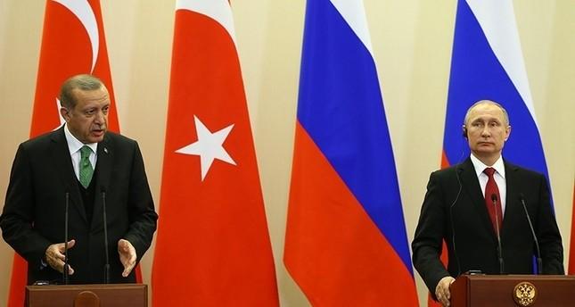 أردوغان وبوتين يبحثان هاتفياً القرار الأمريكي حول القدس