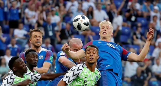 المنتخب النيجيري ينتصر على نظيره الآيسلندي بهدفين دون رد