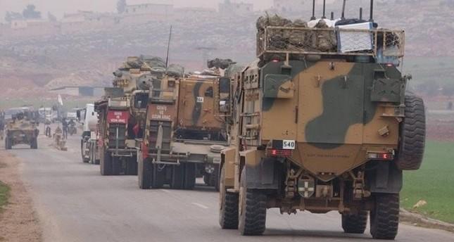 القوات التركية تسير دورية جديدة في منبج