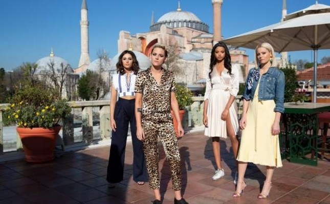 """Actresses of """"Charlie's Angel: Silver Cloud"""" came to Istanbul for filming."""