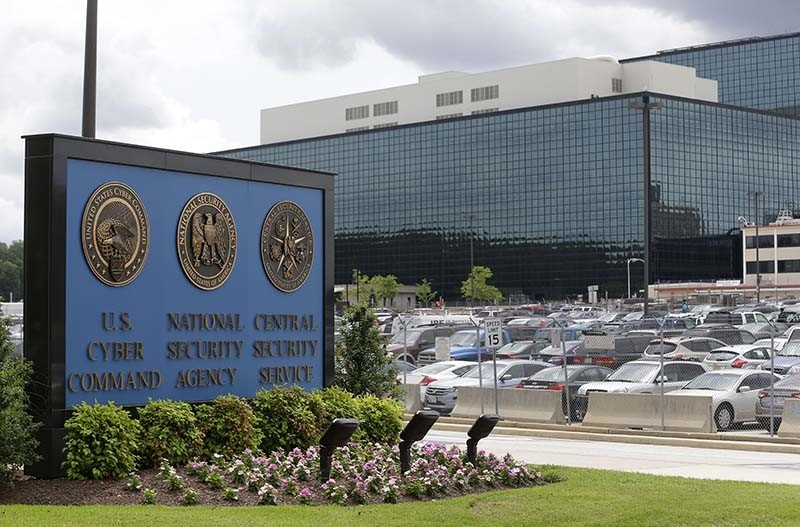 In this June 6, 2013 file photo, the National Security Agency (NSA) campus in in Fort Meade, Md. where the US Cyber Command is located (AP Photo)