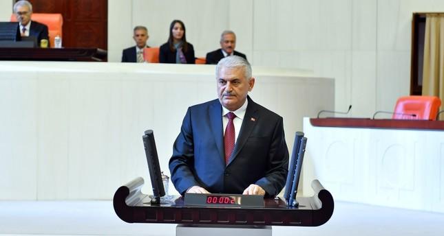 في أول تصريح له بعد انتخابه.. يلدريم يتعهد بأن يكون رئيسا لجميع النواب