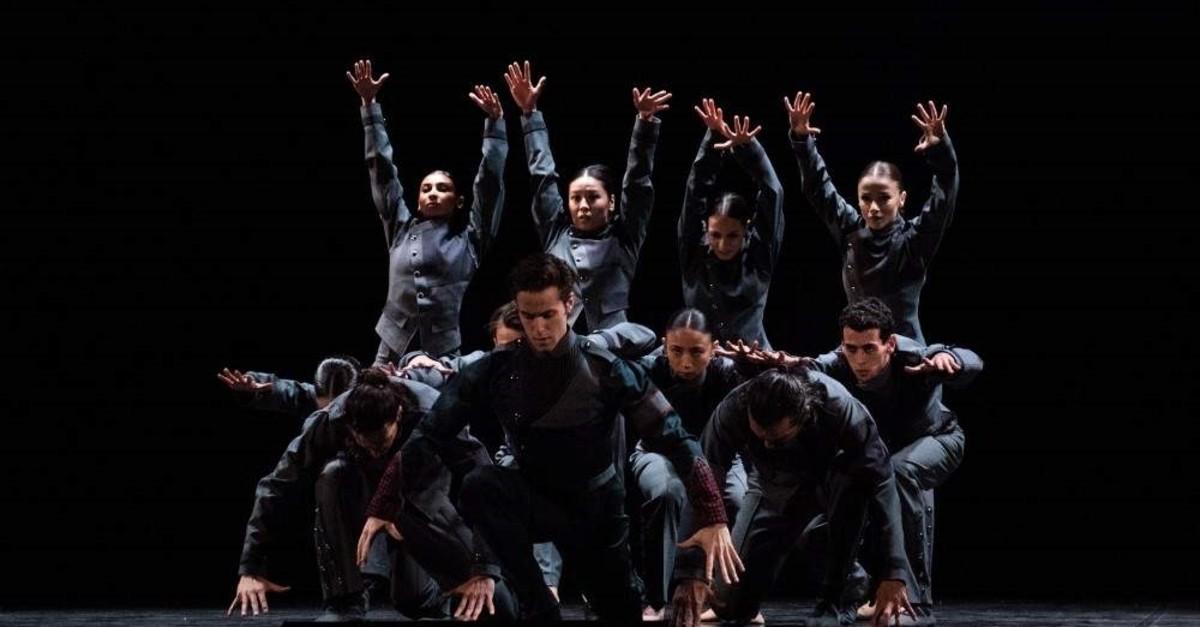 The modern ballet ,Judith, is choreographed by Deniz u00d6zaydu0131n.