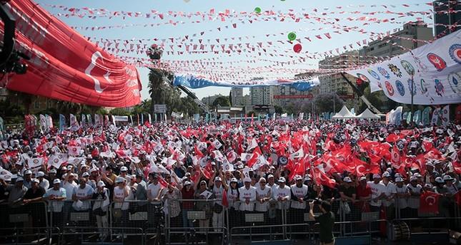 Confederation of Turkish Real Trade Unions Hak-İş Labor Day celebrations in Adana, southern Turkey, May 01, 2018. AA Photo