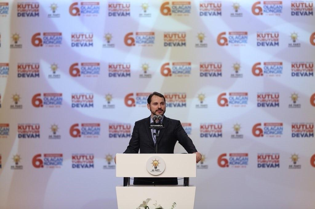 Energy Minister Albayrak