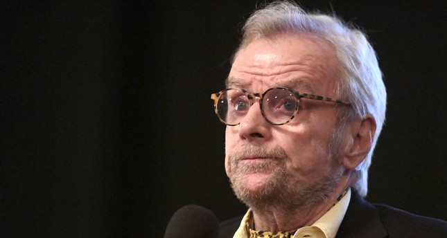 This file photo taken on February 03, 2017 shows director John G. Avildsen speaking onstage at a screening of 'John G. Avildsen: King of the Underdogs'  (AFP Photo)