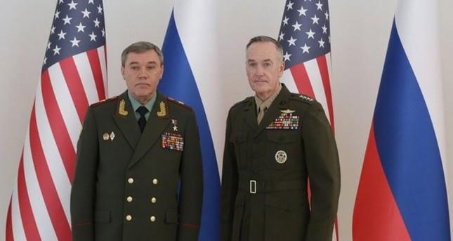رئيس الأركان الأمريكي ونظيره الروسي يبحثان هاتفياً الوضع في سوريا