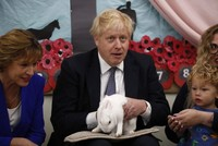Johnson's Tories hold 10-point lead over Labour