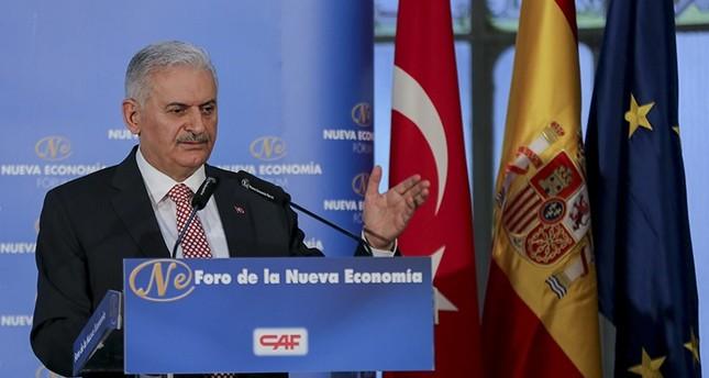 PM Yıldırım reiterates commitment to EU membership