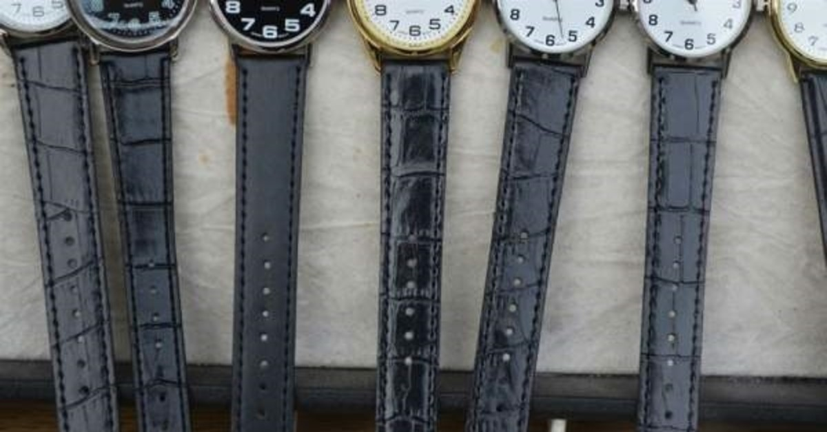 Turkey's watch exports have brought in more than $205.22 million between 2014 and 2018. (AA)