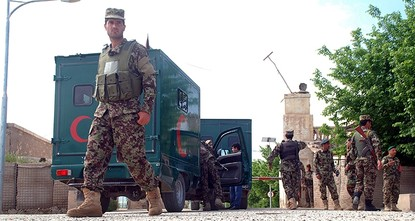 pThe Foreign Ministry on Saturday condemned Friday's terror attack on the regional headquarters of an army base in northern Afghanistan that claimed the lives of dozens of soldiers and injured...