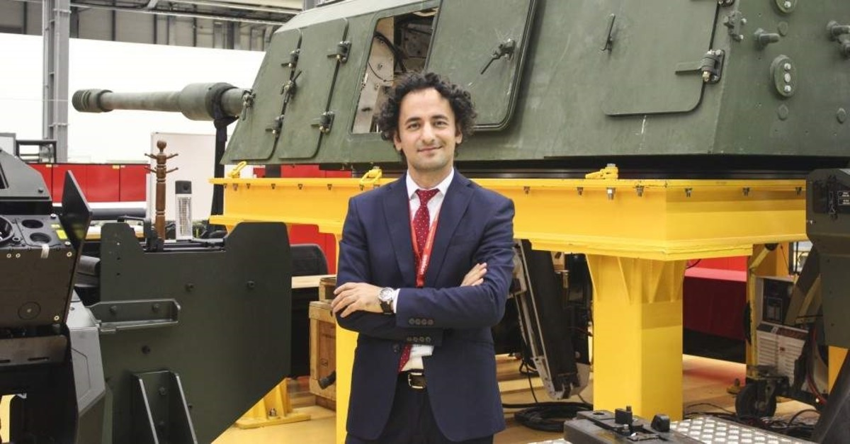 Ula? Arslan returned to the company where he worked for nine years after leaving it for postgraduate studies in the United States. (AA Photo)