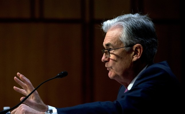 In this Nov. 13, 2019, file photo Federal Reserve Board Chair Jerome Powell testifies on the economic outlook, on Capitol Hill in Washington. AP Photo