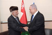 Netanyahu meets Omani FM, hints Arab states engaging with Israel
