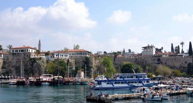 Antalya: 2,3 Millionen Touristen aus 178 Ländern