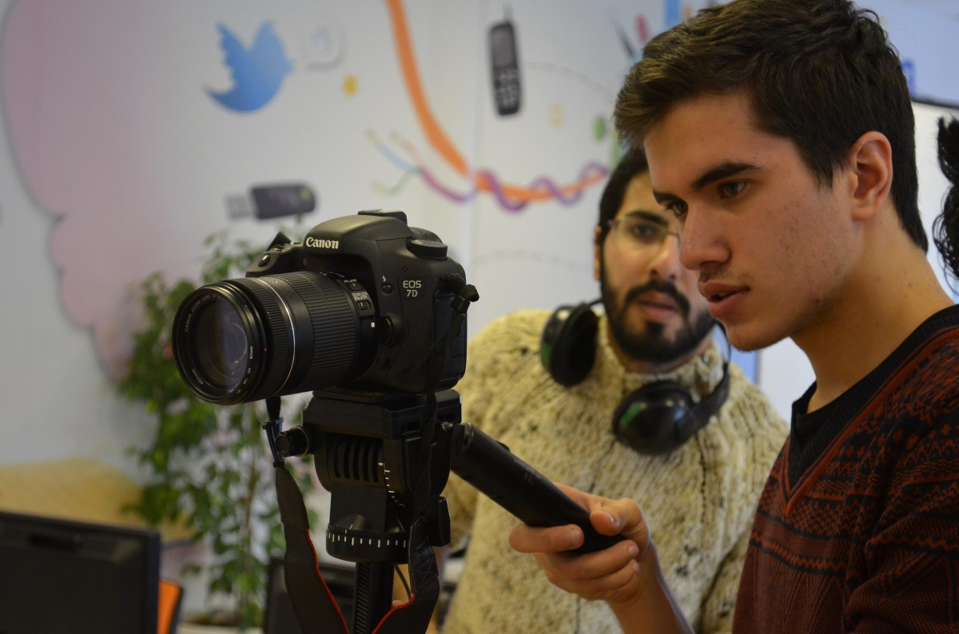 140 students trained at Sancaktepe Cinema Academy will work in the project as volunteers.