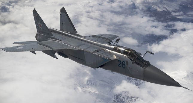 В Нижегородской области России разбился МиГ-31