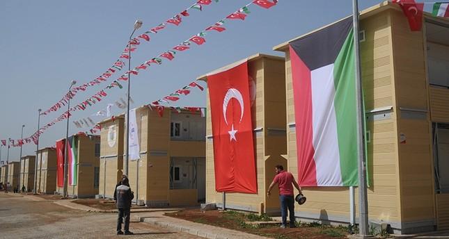 افتتاح قرية عصرية تضم 1248 منزلاً للاجئين السوريين في تركيا