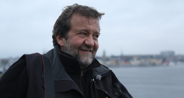 This file photo from 2012 shows Coşkun Aral in Sweden, where he was interviewed for a documentary series. Sabah Photo