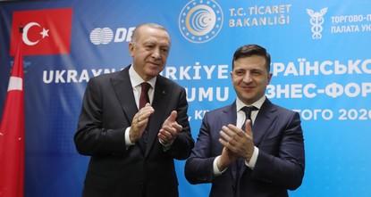 تفاهم تركي أوكراني لإبرام اتفاقية تجارة حرة بين البلدين