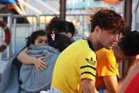 Tourboot rettet 10 Flüchtlinge an Bodrum-Küste