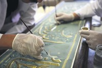 Laboratory team behind the preservation of historical artifacts