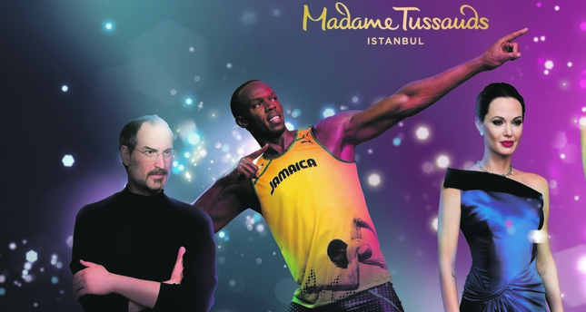 Usain Bolt, Messi and Rihanna coming to Istanbul - in the form of wax works