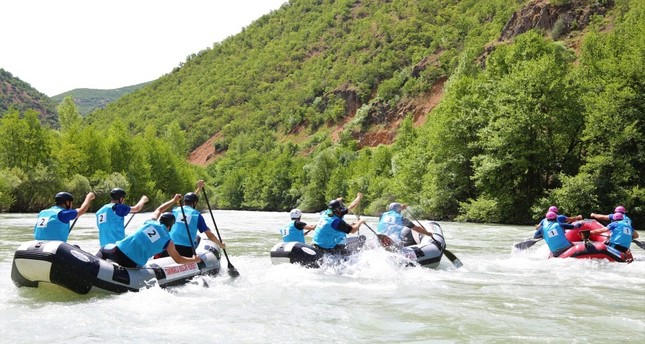 World Rafting Championships kicks off in Tunceli