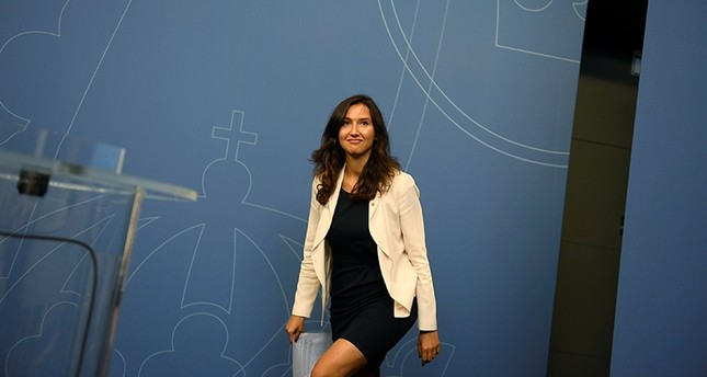 Swedish Minister Aida Hadzialic (Reuters Photo)