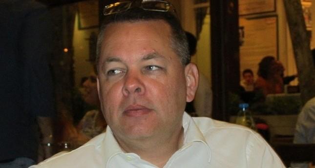 الكاهن الأمريكي المعتقل في تركيا على خلفية معاونته لتنظيمات إرهابية أندرو كريغ برونسون - DHA