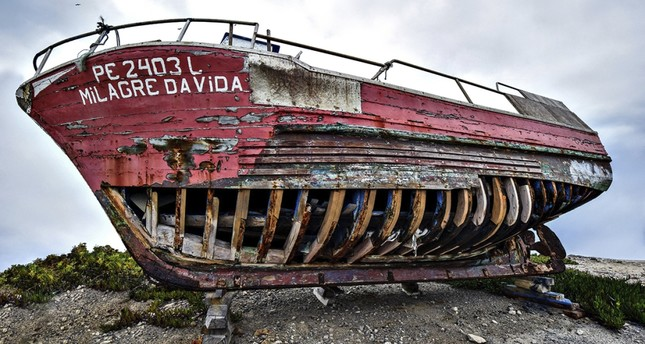 Benazzo's exhibition captures memories of shipwrecks