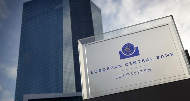 The headquarters of the European Central Bank ECB is pictured in Frankfurt am Main, western Germany, Jan. 23, 2020.