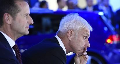 Volkswagen replaces CEO Mueller with Diess
