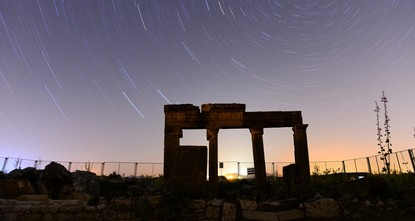 Ancient city of Blaundus best place to observe the heavens