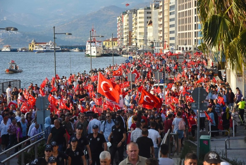 July 15 coup attempt commemorated in Turkey, abroad
