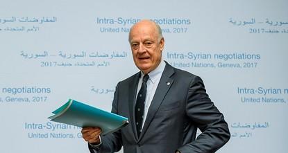 أكد المتحدث باسم الهيئة العليا للمفاوضات السورية، سالم المسلط، الأربعاء في جنيف أن المعارضة تطالب