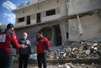 Turkish Red Crescent to boost aid projects for Syria's al-Bab