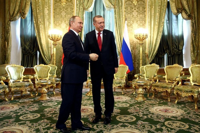 President Erdoğan and Russian President Putin meets in the Kremlin Palace to discuss bilateral relations, March 10.