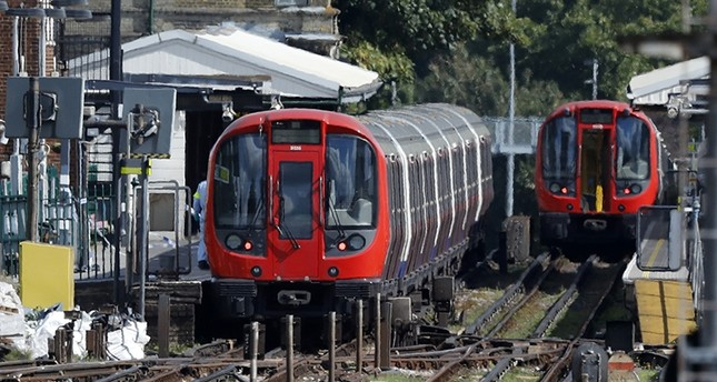British police make 7th arrest in London train attack