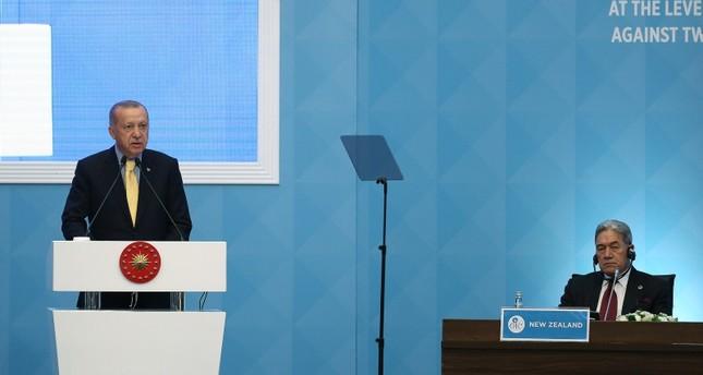 أردوغان: رئيسة وزراء نيوزيلندا نموذج لزعماء العالم