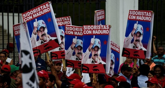 Venezuela accuses US, opposition of planning coup