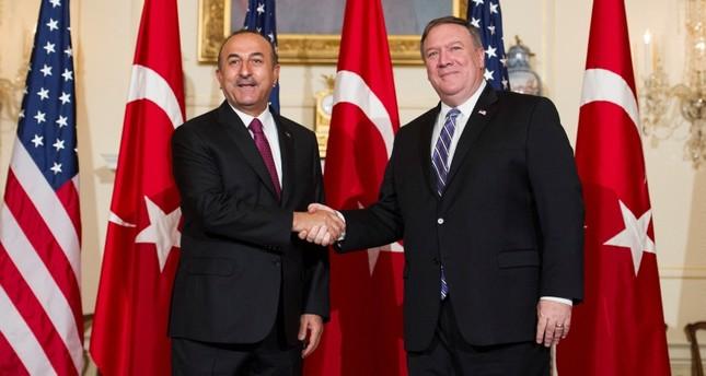 وزير الخارجية التركي يجري مباحثات مع نظيريه الأمريكي والألماني