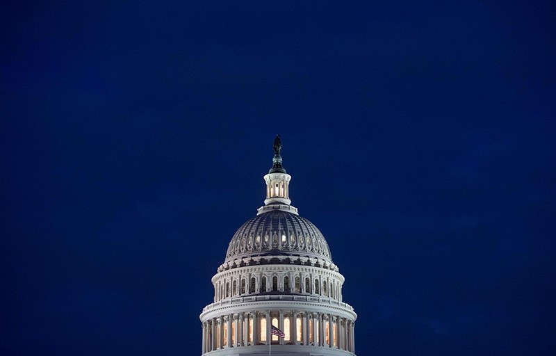US government shuts down after Senate's failure to vote on budget deal (AFP Photo)